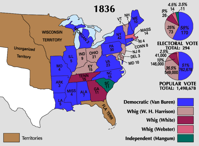 Timeline of ann arbor history and its tragedies crises disasters 1836 martin van buren defeated william harrison and hugh white in the 1836 presidential election there were 15 million americans who voted fandeluxe Images